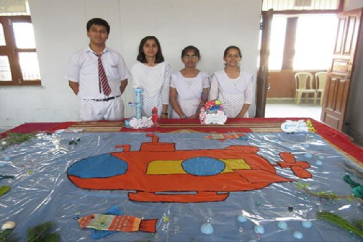 Hindu Senior Secondary School-Best Out Of Waste Competition