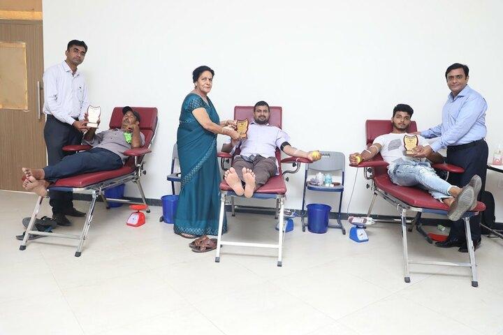Holy Child Public School-Blood Donation Camp
