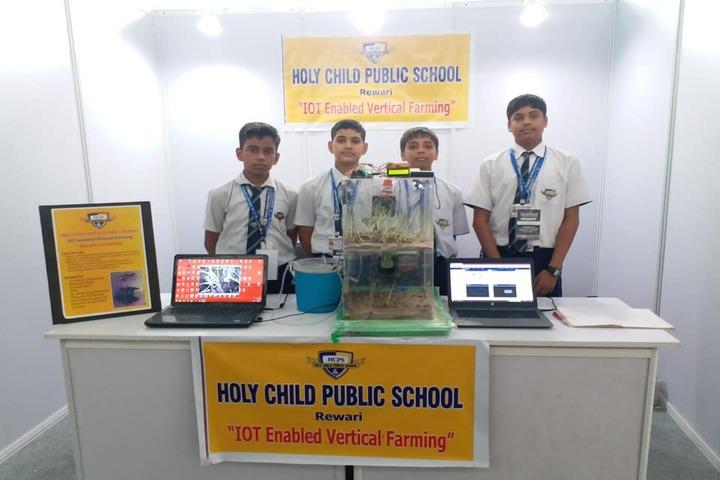 Holy Child Public School-Exhibition