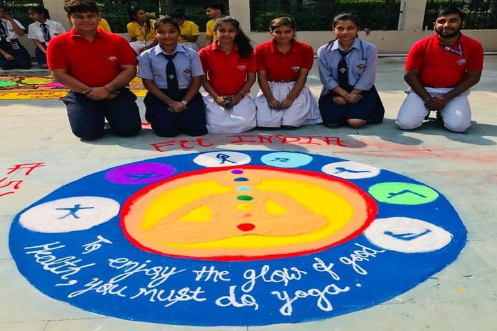 Holy Child Public School-Rangoli