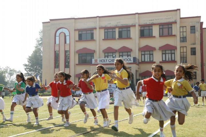 Holy Child School-Running Competition