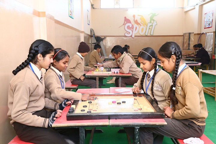 Holy Mother Public School-Indoor Games