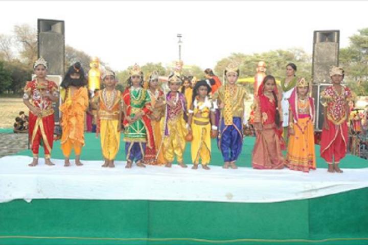 Hps Senior Secondary School-Dussera Celebration