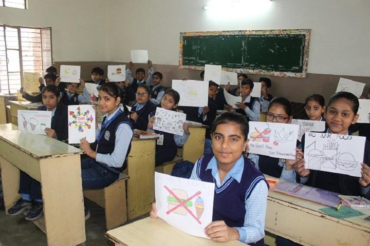 I B L Public School-Classroom view