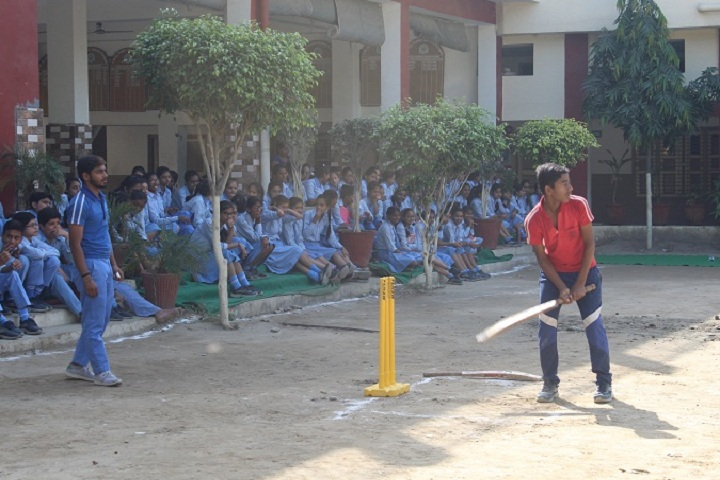 I B L Public School-Sports cricket