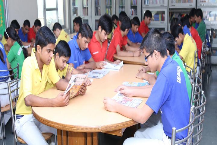 Indian Modern Senior Secondary School-Library