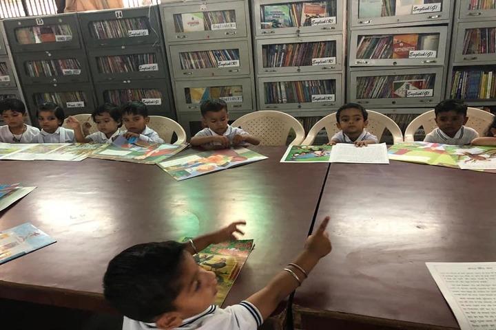 Indira Gandhi Public School-Library
