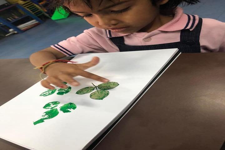 Indira Gandhi Public School-Poster Making