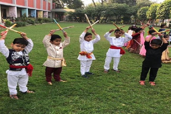 Indira Gandhi Public School-Dandiya