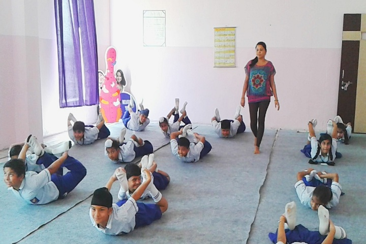 Indraprasth Public School-Yoga Classes