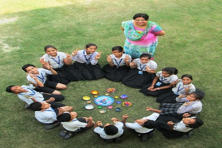 Indus Public School-Rangoli