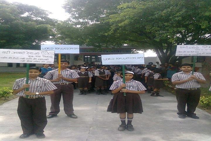Itbp Public School-World Population Day