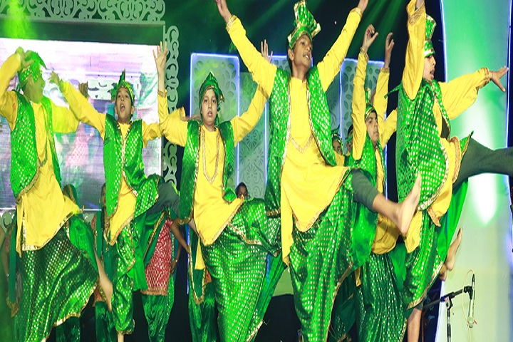 J K R Public School-Dances