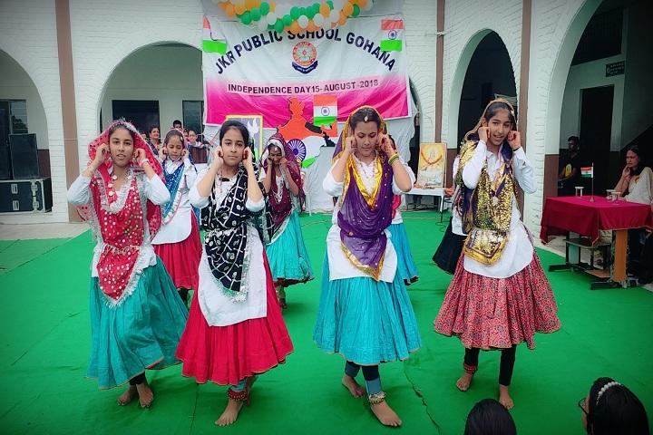 J K R Public School-Independence Day Celebrations