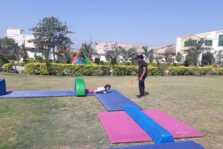 J K R Public School-Kids Play Area