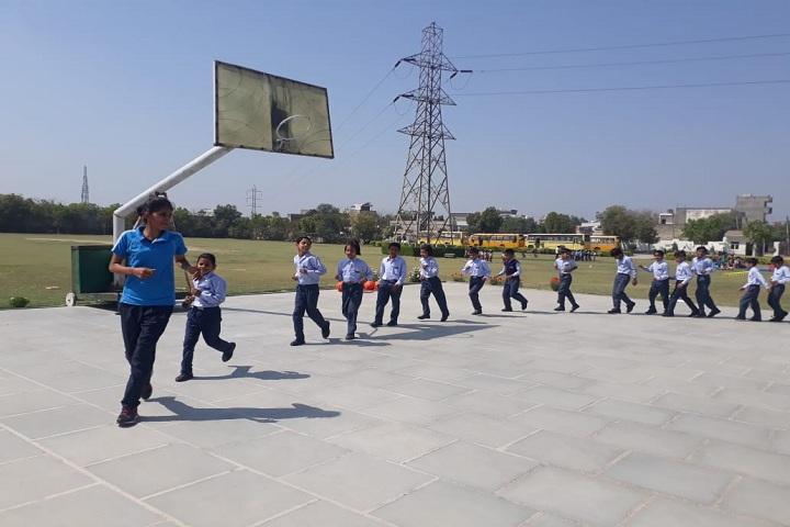 J K R Public School-Sports