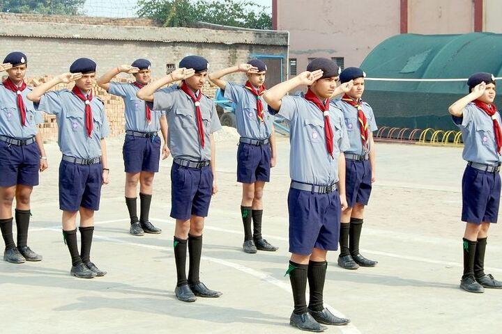 J P Jain Senior Secondry School-NCC