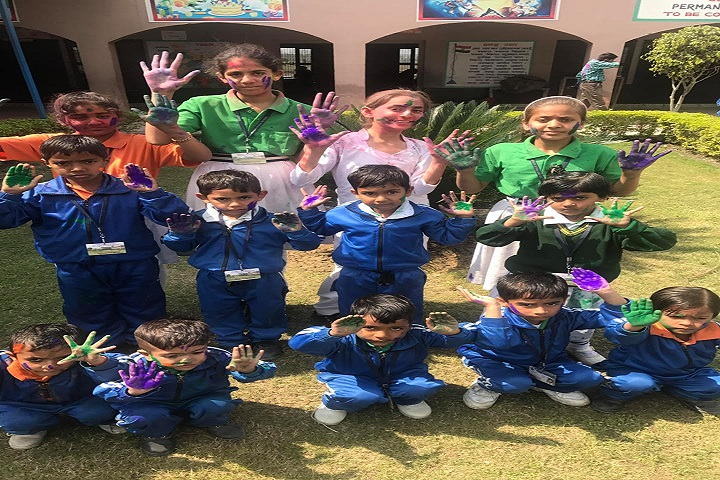 Jai Hind High School-Holi Celebrations