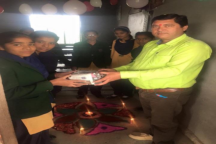 Jai Hind High School-Rangoli Competition Winner