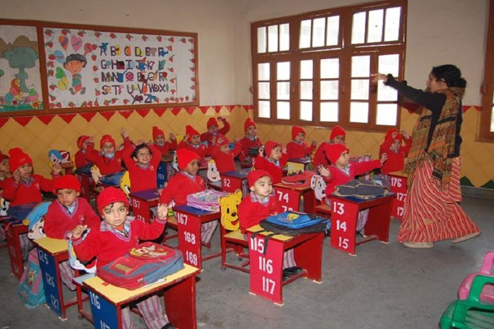 Jain Vidya Mandir High School-Class Room
