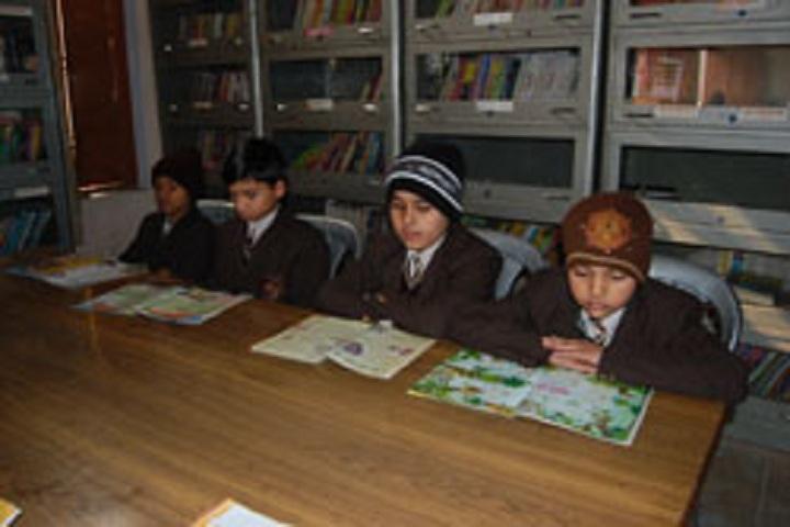 Jain Vidya Mandir High School-Library