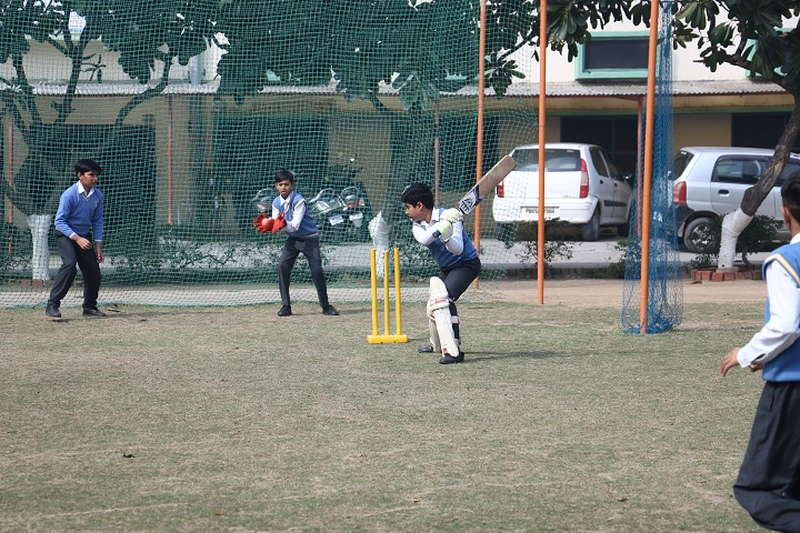 Jainendra Public School-Cricket