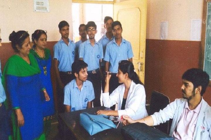 Jan Sewa Sansthan Public School-Eye Checkup Camp
