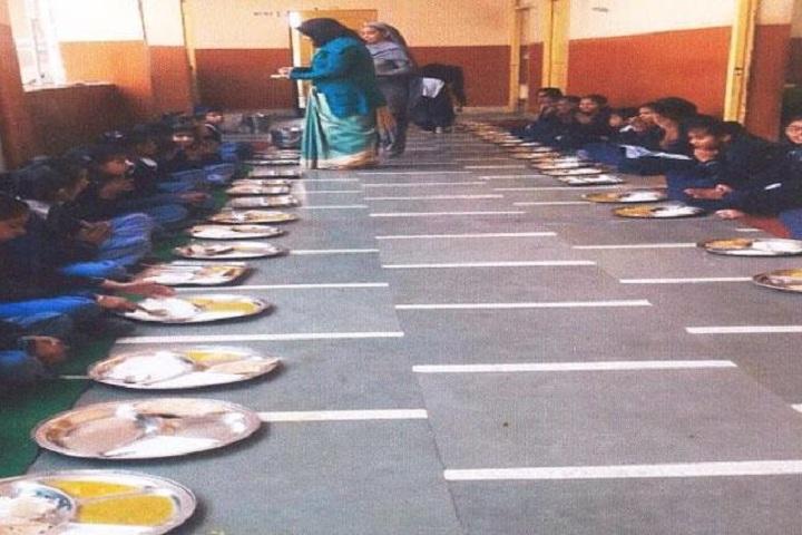 Jan Sewa Sansthan Public School-Mid Day Meal