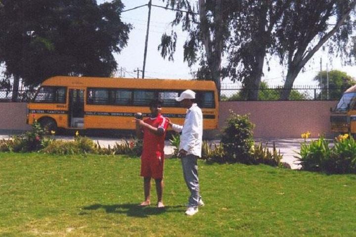Jan Sewa Sansthan Public School-Shot Put