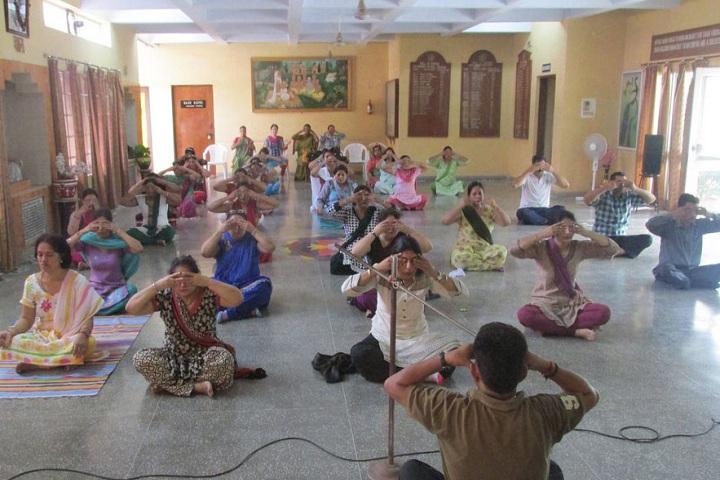Jankidas Kapur Public School-Yoga