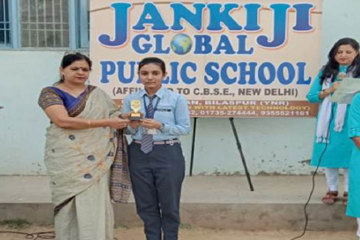Jankiji Global Public School-Prize Distribution