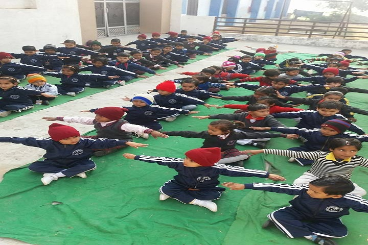 Janta Adarsh Satydev Sr Sec School-Yoga Classes