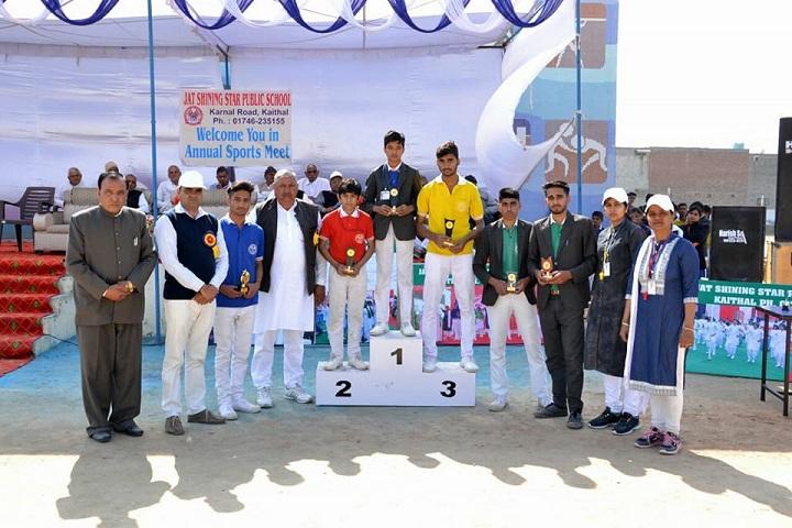 Jat Shining Star Public School-Felicitation