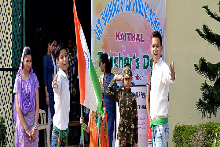Jat Shining Star Public School-Teachers Day