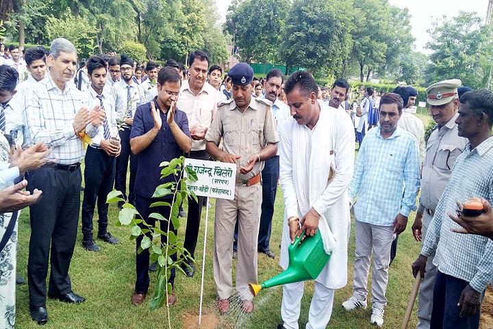 Jawahar Navodaya Vidyalaya-Plantation Event