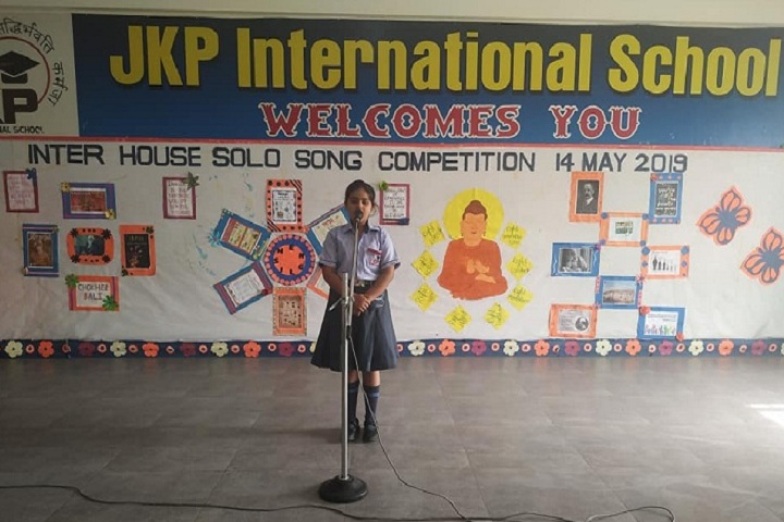 Jkp International School-Solo Song Competition
