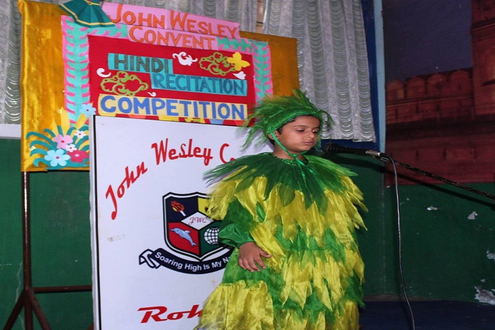 John Wesley Convent School-Hindi Recitation