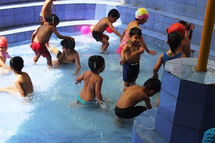 John Wesley Convent School-Splash Pool