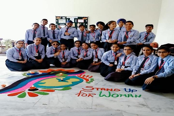 Jps Academy-Rangoli