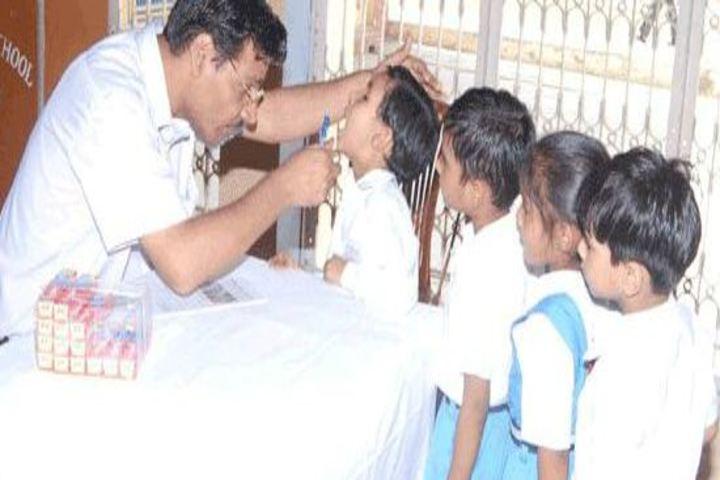 K M Public School-Health Checkup