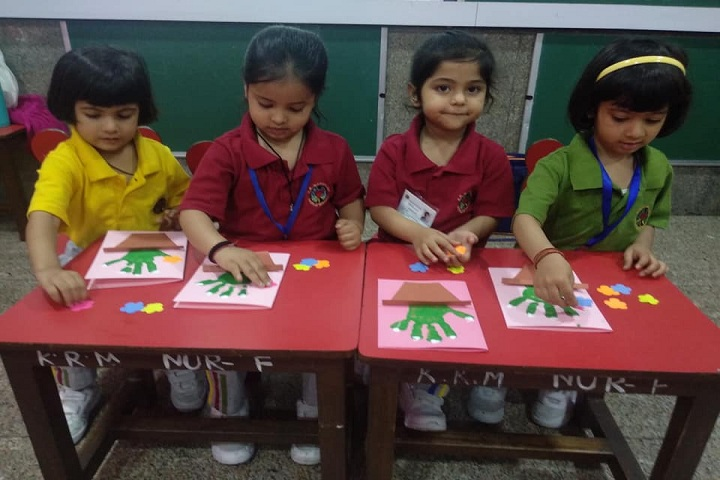 K R Mangalam World School-Activity