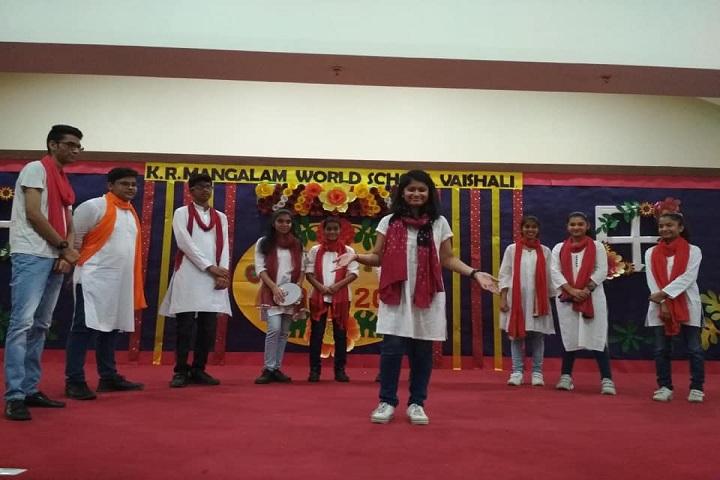 K R Mangalam World School-Dances