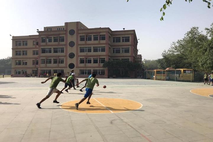 K R Mangalam World School-Sports