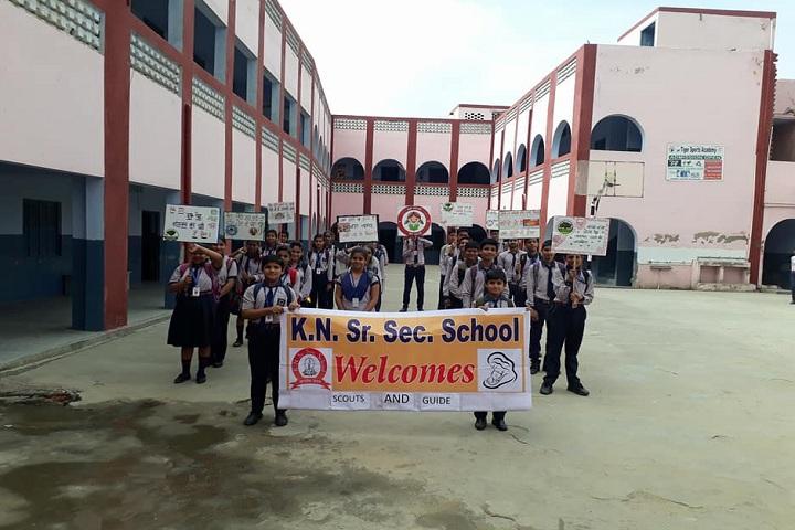 KN Senior Secondary School-Rally