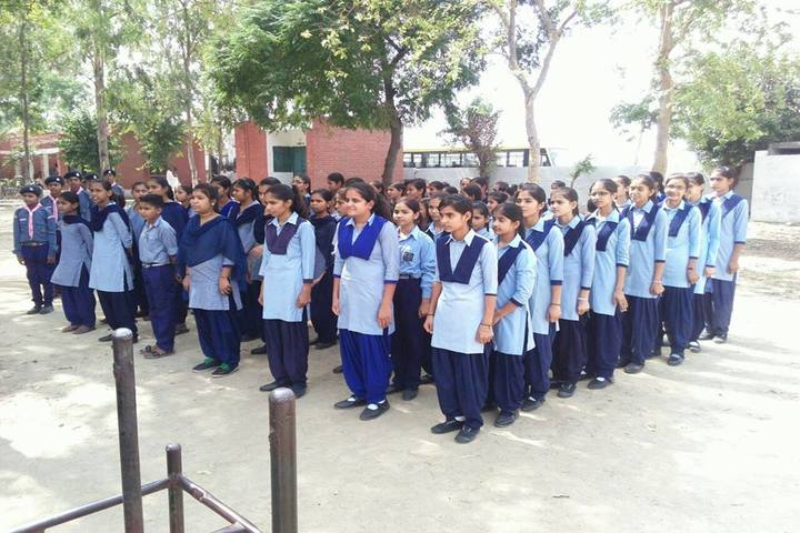 Kanhiya Public School-Assembly