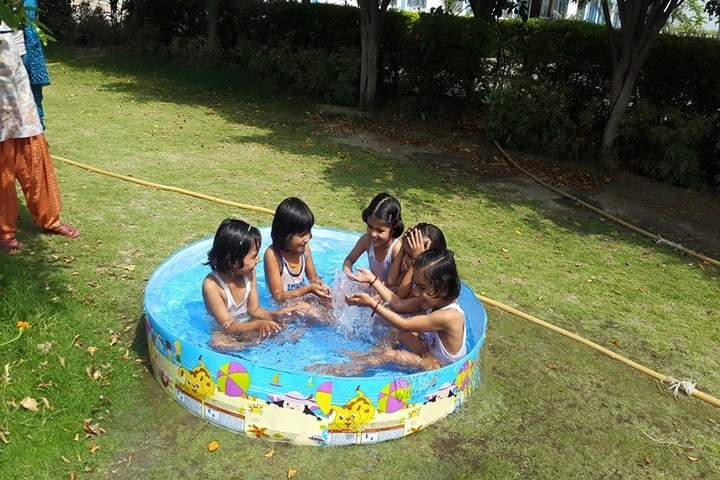 Kanhiya Public School-Pool Fun