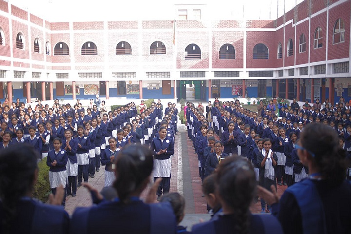 Amatir Kanya Gurukul-Assembly