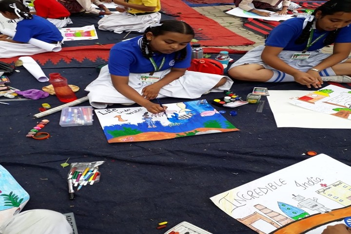 Karan Public School-Art Activity