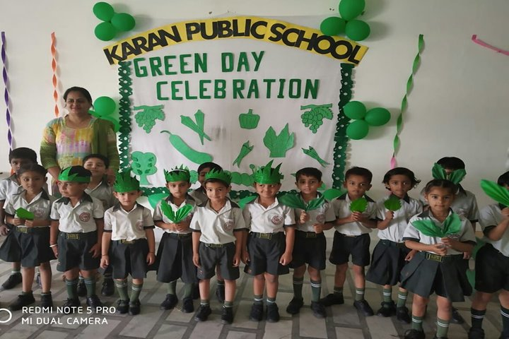 Karan Public School-Green Day Celebrations