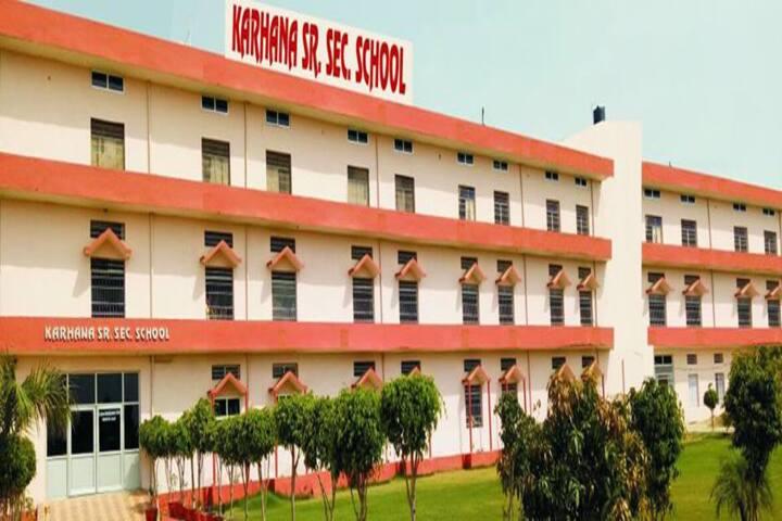 Karhana Senior Secondary School-Campus View